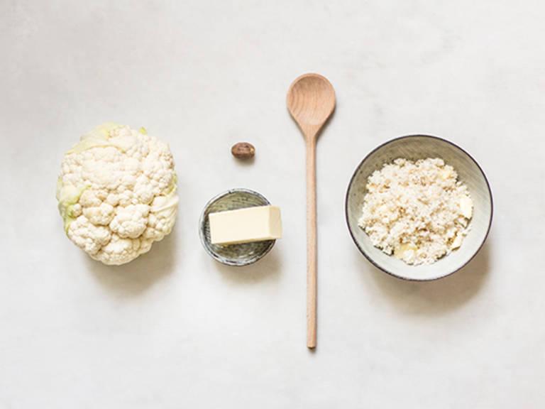 Homemade cauliflower rice