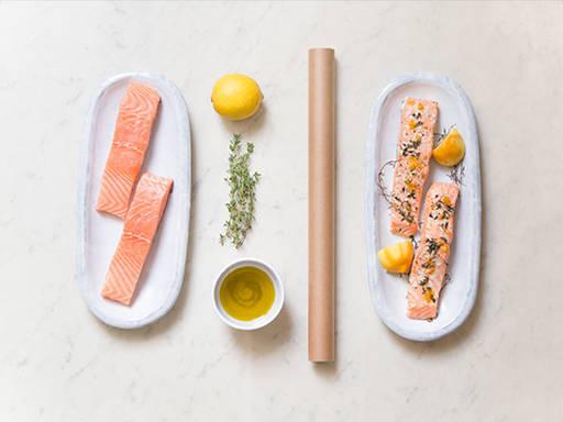 Foolproof salmon