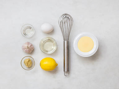 Homemade aioli
