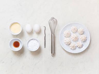 Homemade meringues