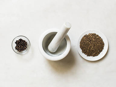 Homemade Sichuan pepper powder