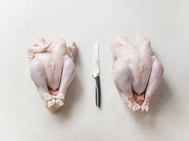 How to prepare a whole chicken