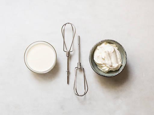 如何打发稀奶油