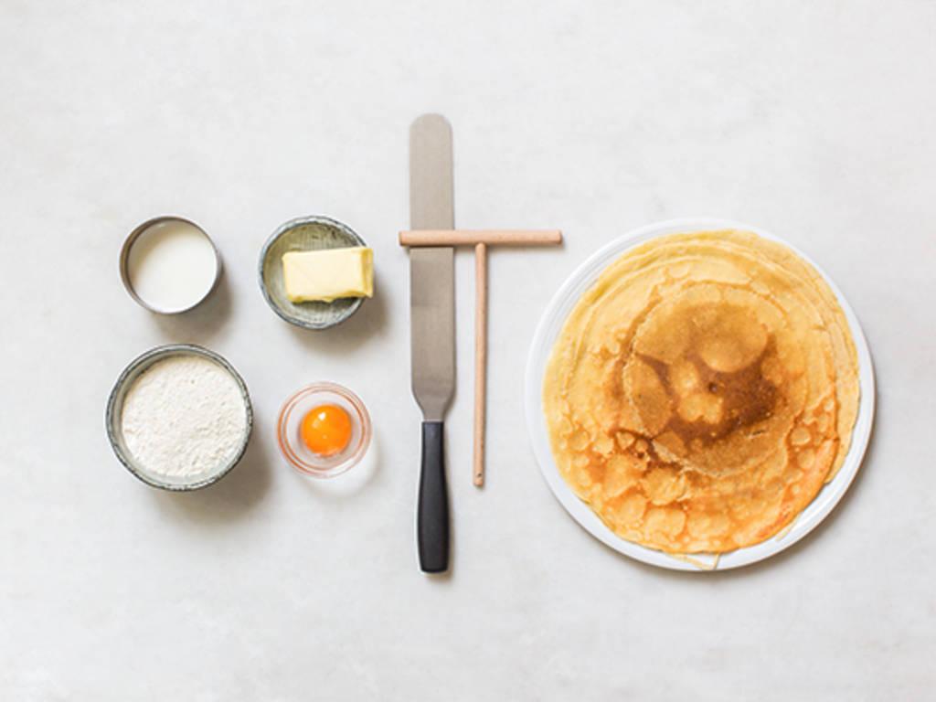 基础法式可丽饼做法