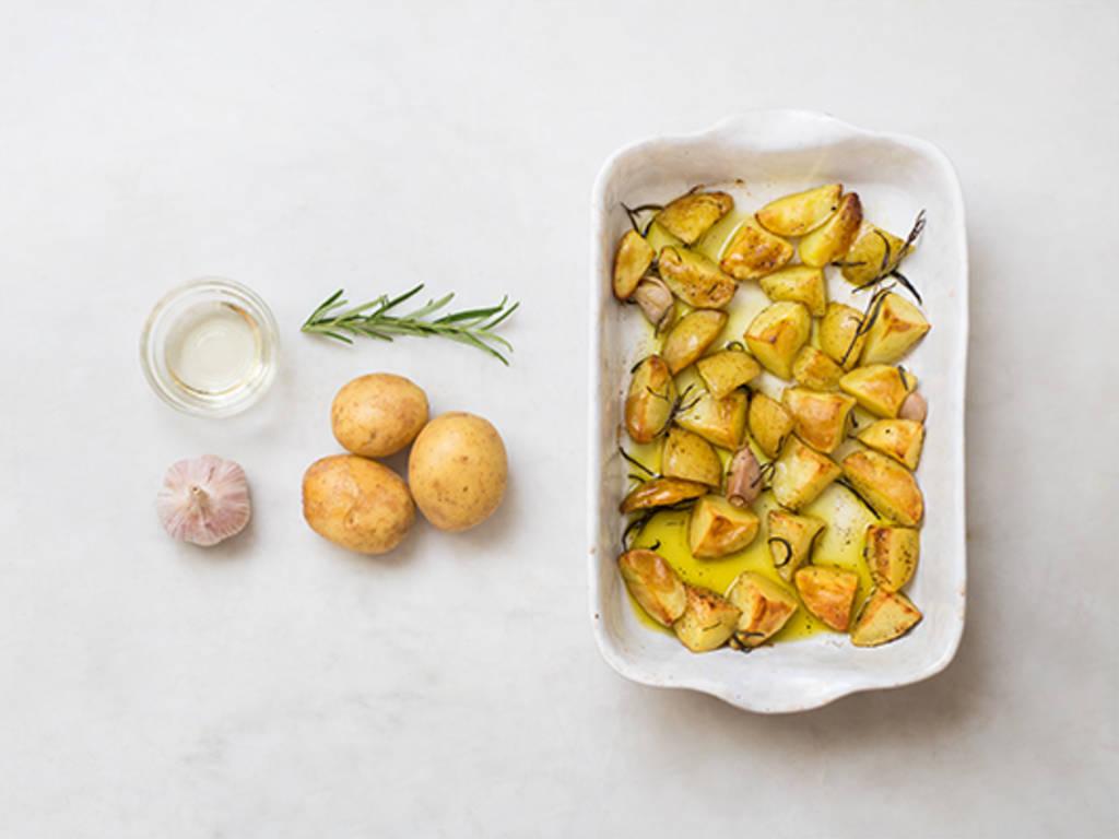 烤迷迭香土豆