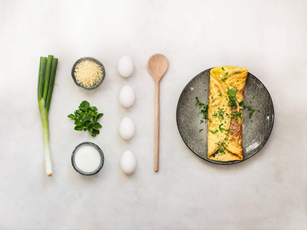 Schnelles Käse-Omelette
