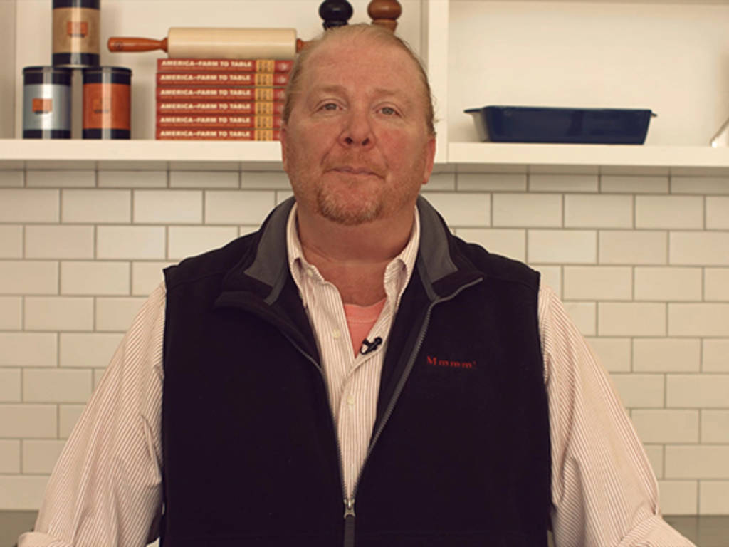 Mario Batali for (RED)