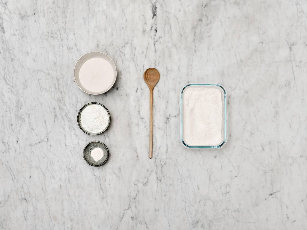 如何制作无麸质面粉