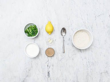 Homemade tahini dressing