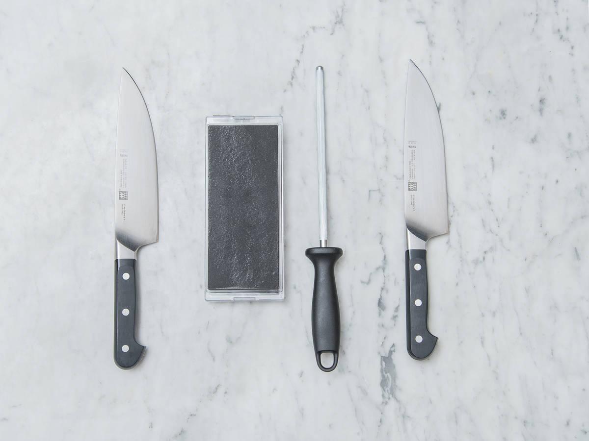 Messer richtig schärfen