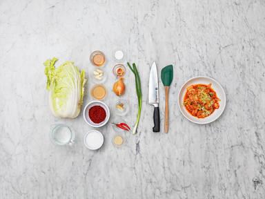 Homemade shortcut kimchi
