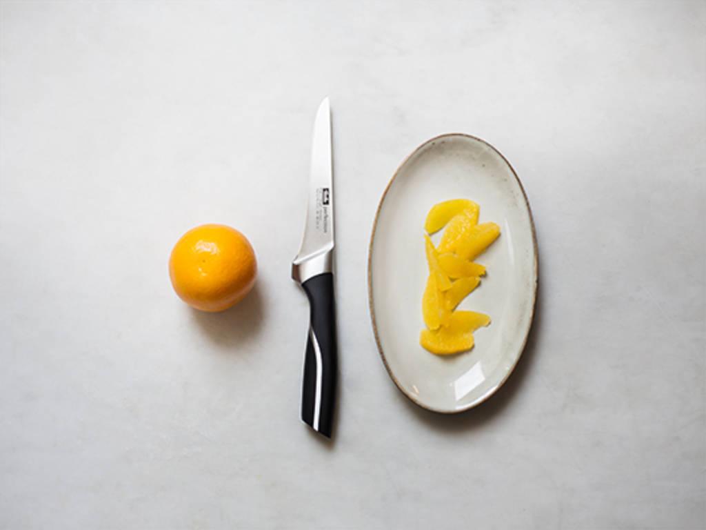 如何切桔子