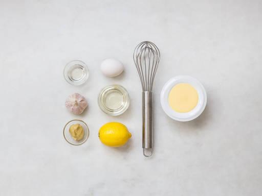 自制蒜泥蛋黄酱