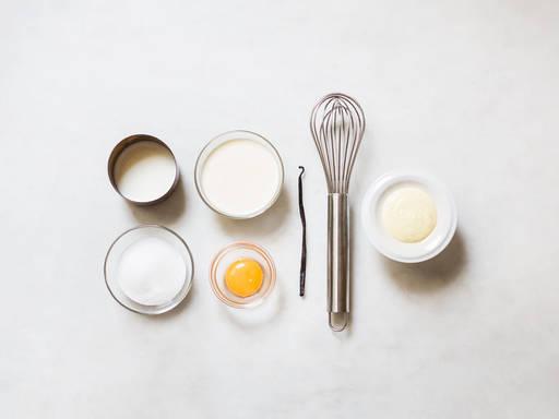 Schnelle Vanillesoße