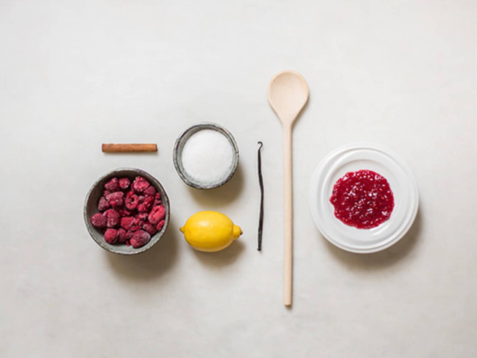 Homemade aromatic fruit jam