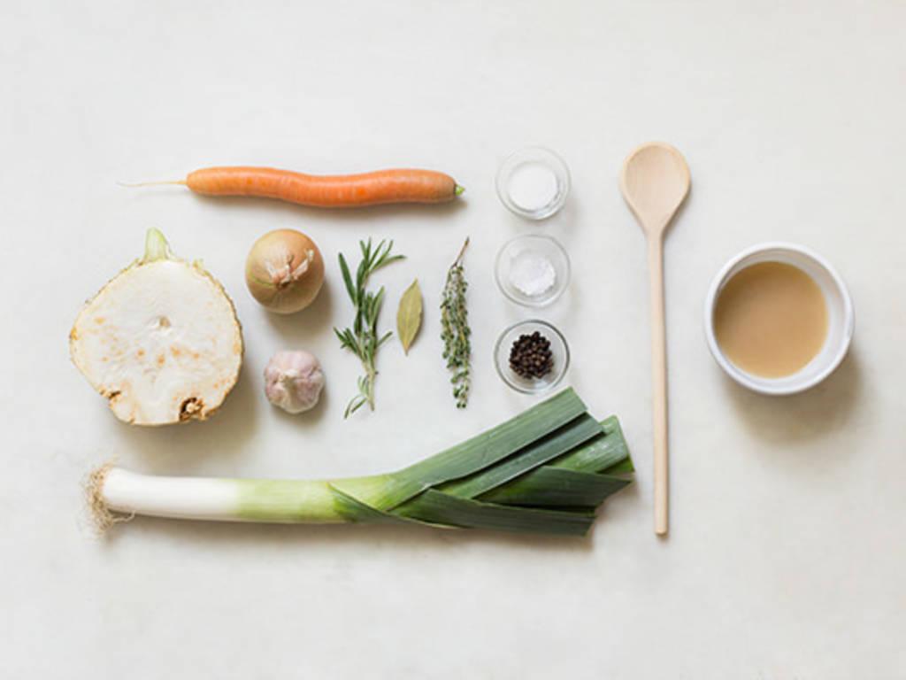 Gemüsebrühe selbst herstellen