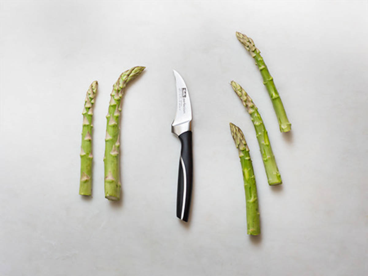 How to prepare green asparagus