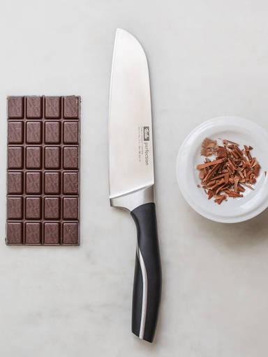 Dekorative Schokoladenspäne selber machen