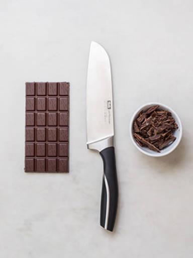 Schokolade richtig hacken