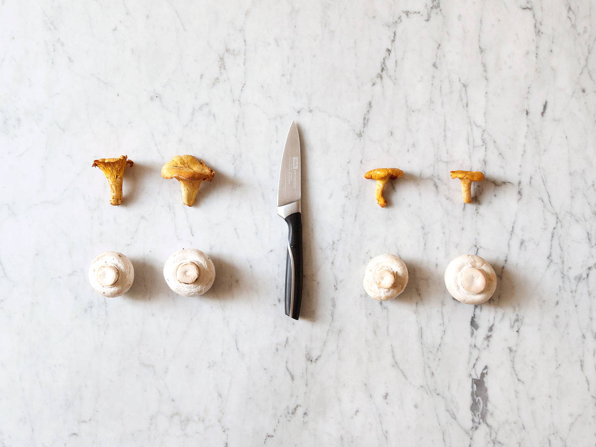 How to clean mushrooms