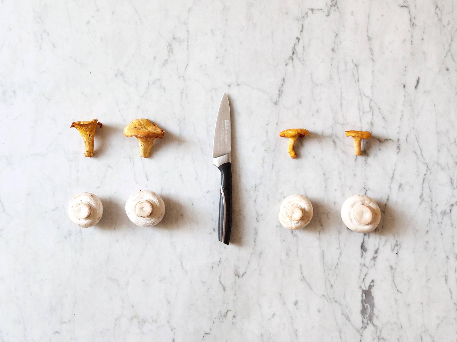 如何清洗蘑菇
