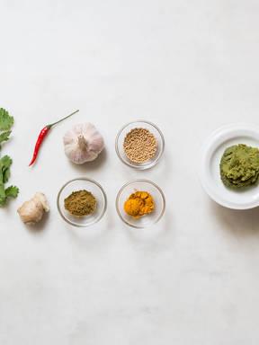 Currypaste selbst herstellen