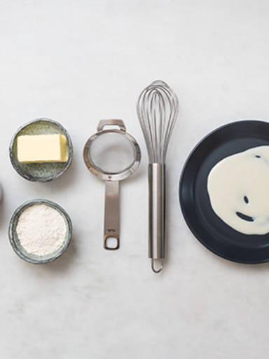 如何制作全能乳酪面粉糊