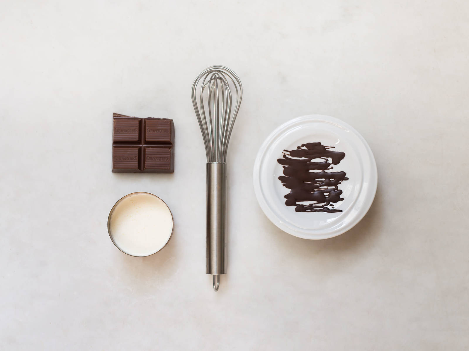 Schokoladenglasur für Zuhause