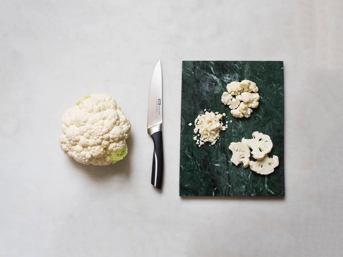 Blumenkohl richtig schneiden