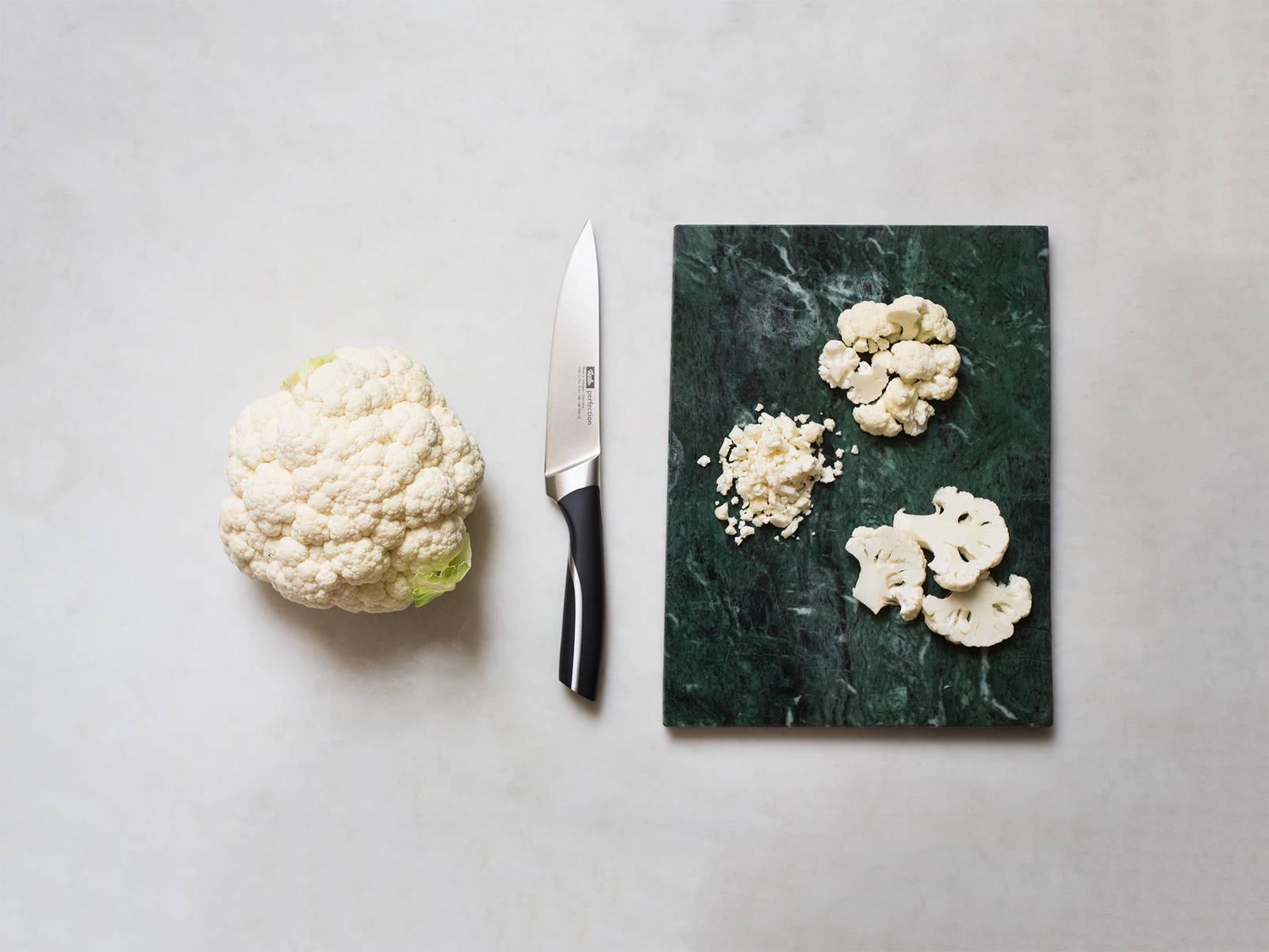 怎样切花椰菜