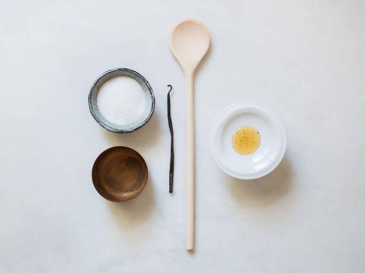 Hausgemachtes Vanilleextrakt