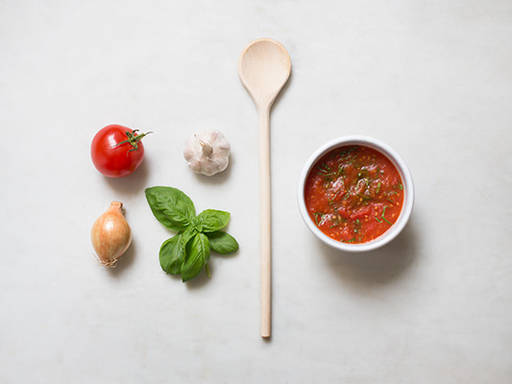 Hausgemachte Tomatensoße
