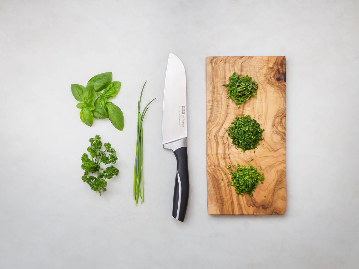 How to chop green herbs | Recipe with Video | Kitchen Stories