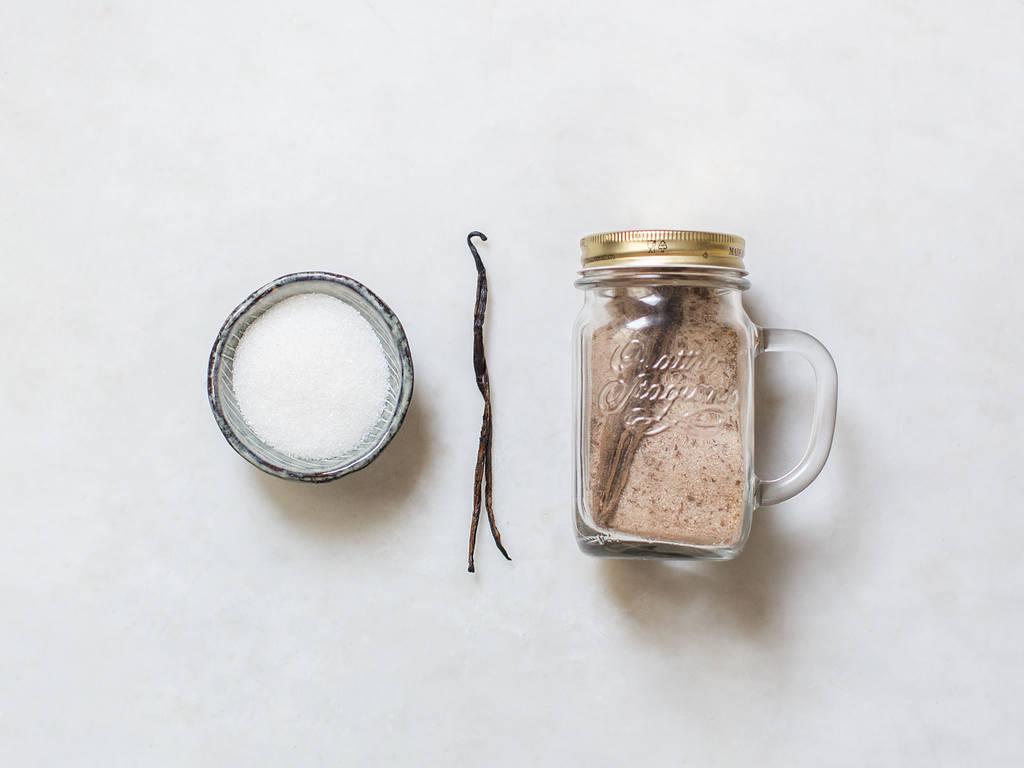 Hausgemachter Vanillezucker