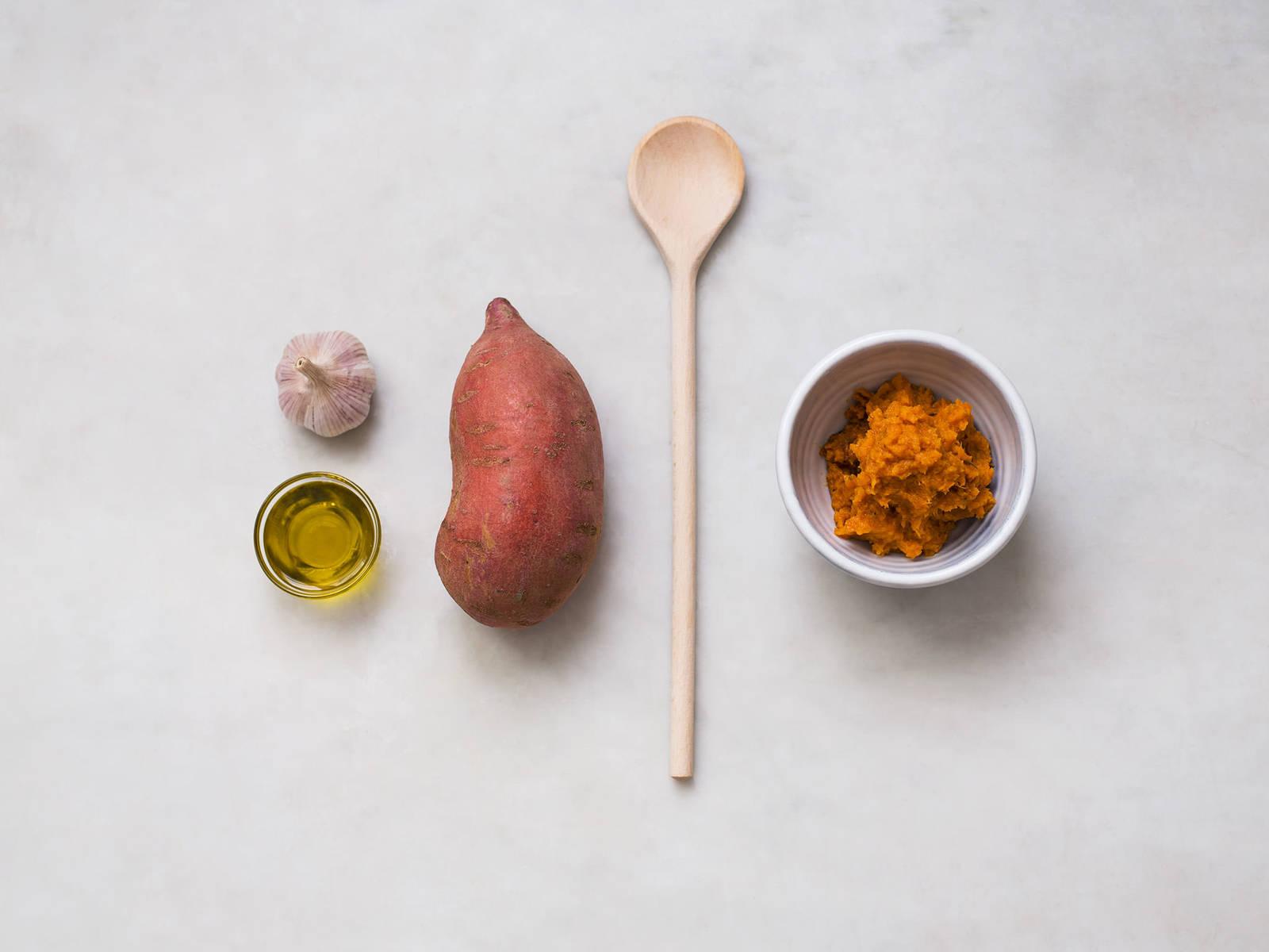 Süßkartoffelpüree selbst herstellen