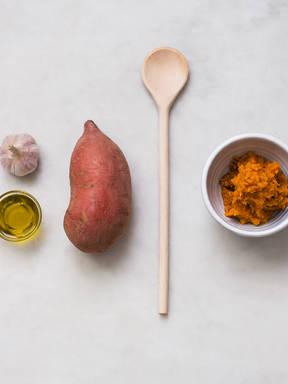 How to make mashed sweet potatoes