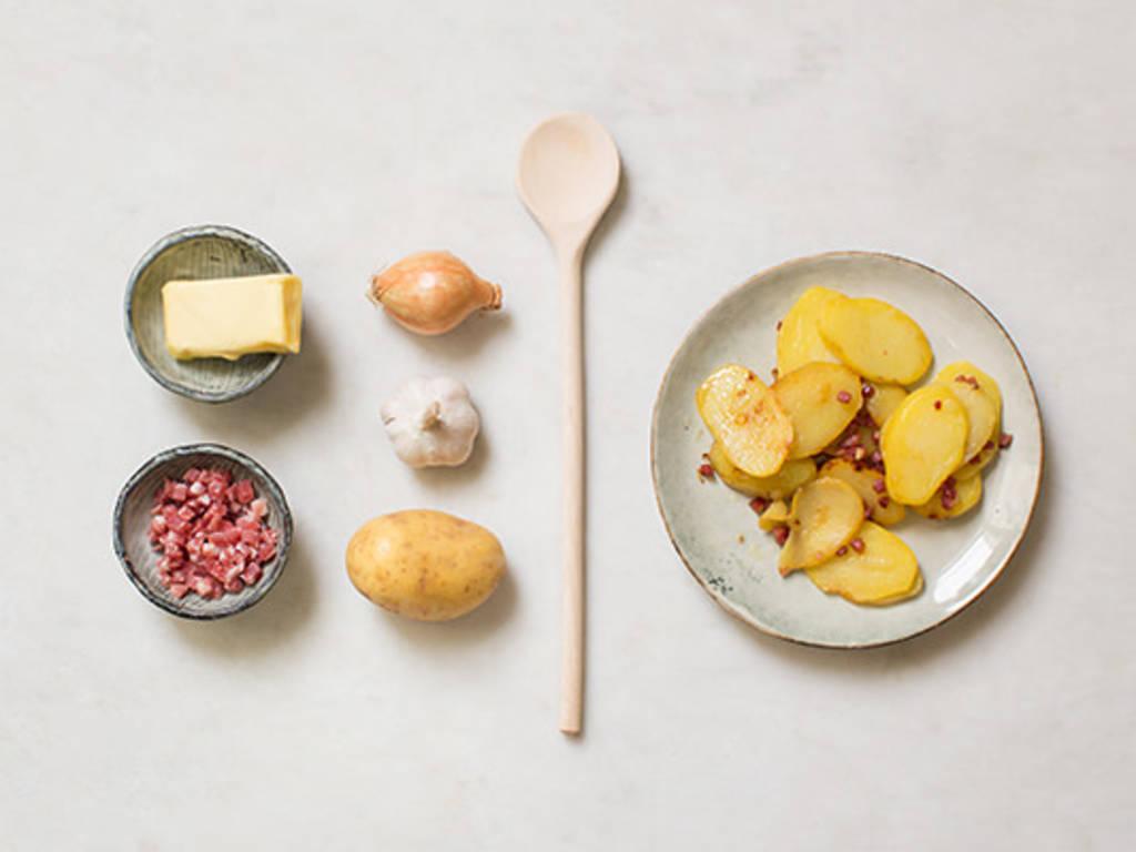 简易炒土豆