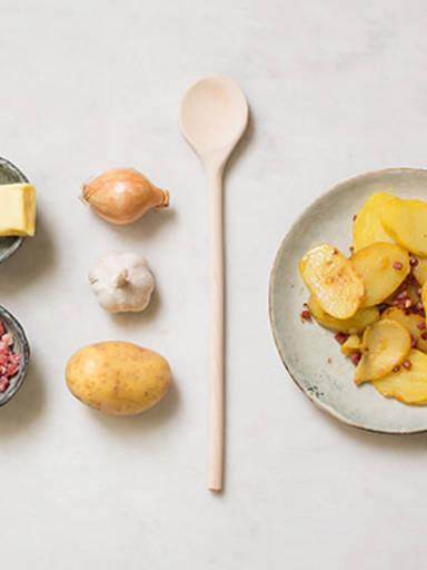 Simple fried potatoes
