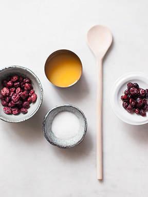Hausgemachte Cranberry-Soße