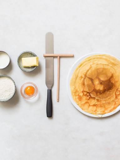 经典法式薄饼