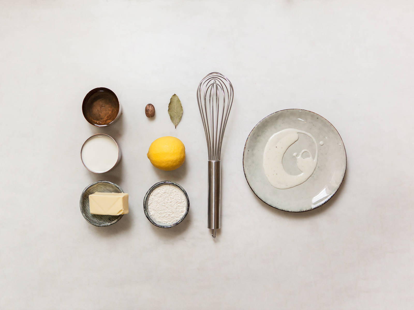自制法国贝夏梅尔调味酱