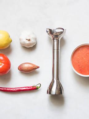 Hausgemachte scharfe Chilisoße
