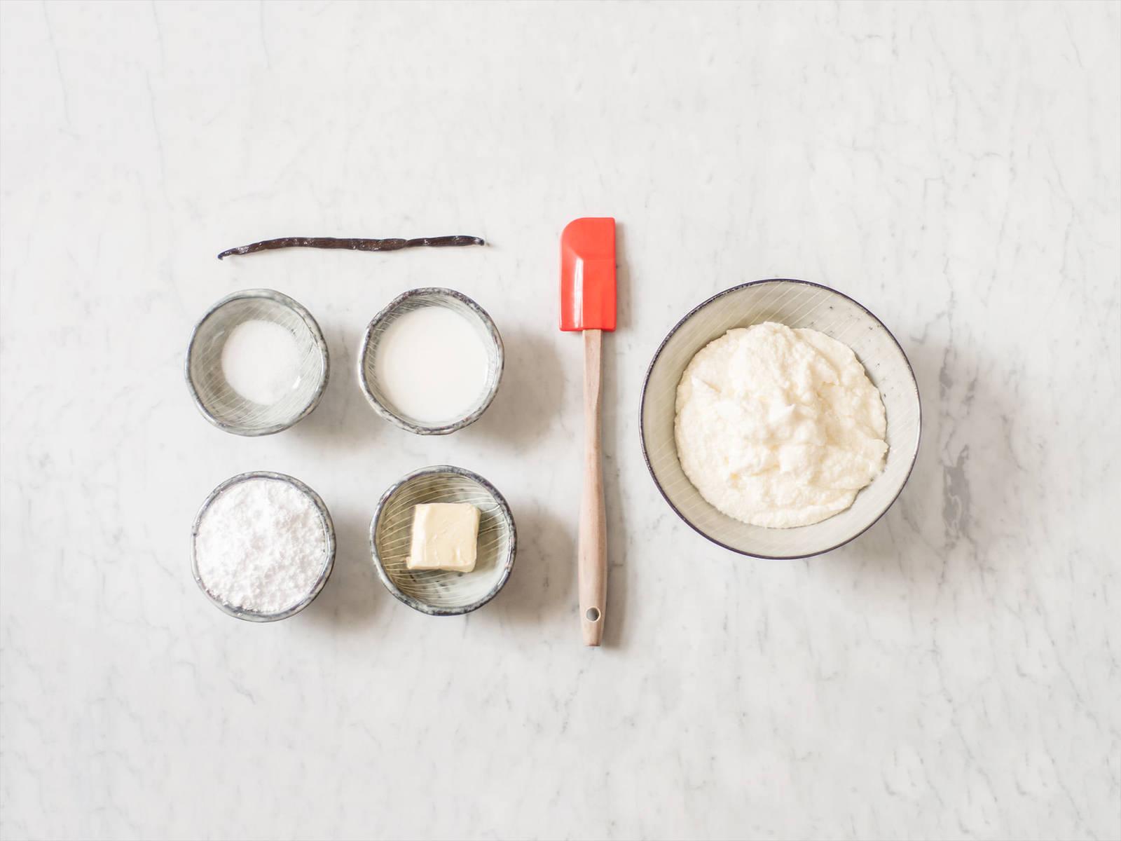 初级香草奶油霜
