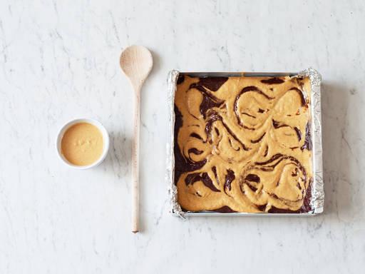 Perfect brownie swirl
