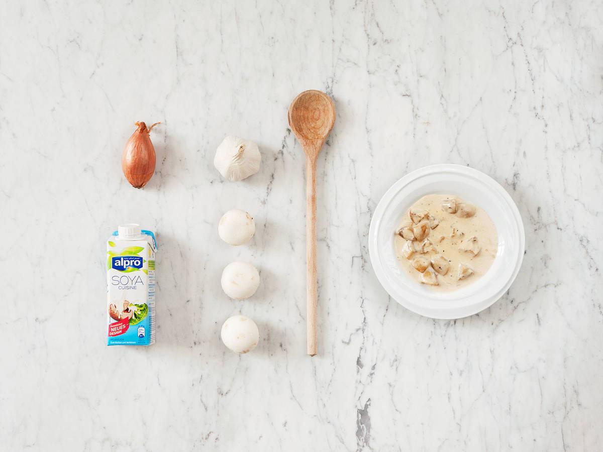 Schnelle Pilzsoße ohne Mehlschwitze
