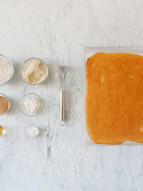 Vegan sponge cake base
