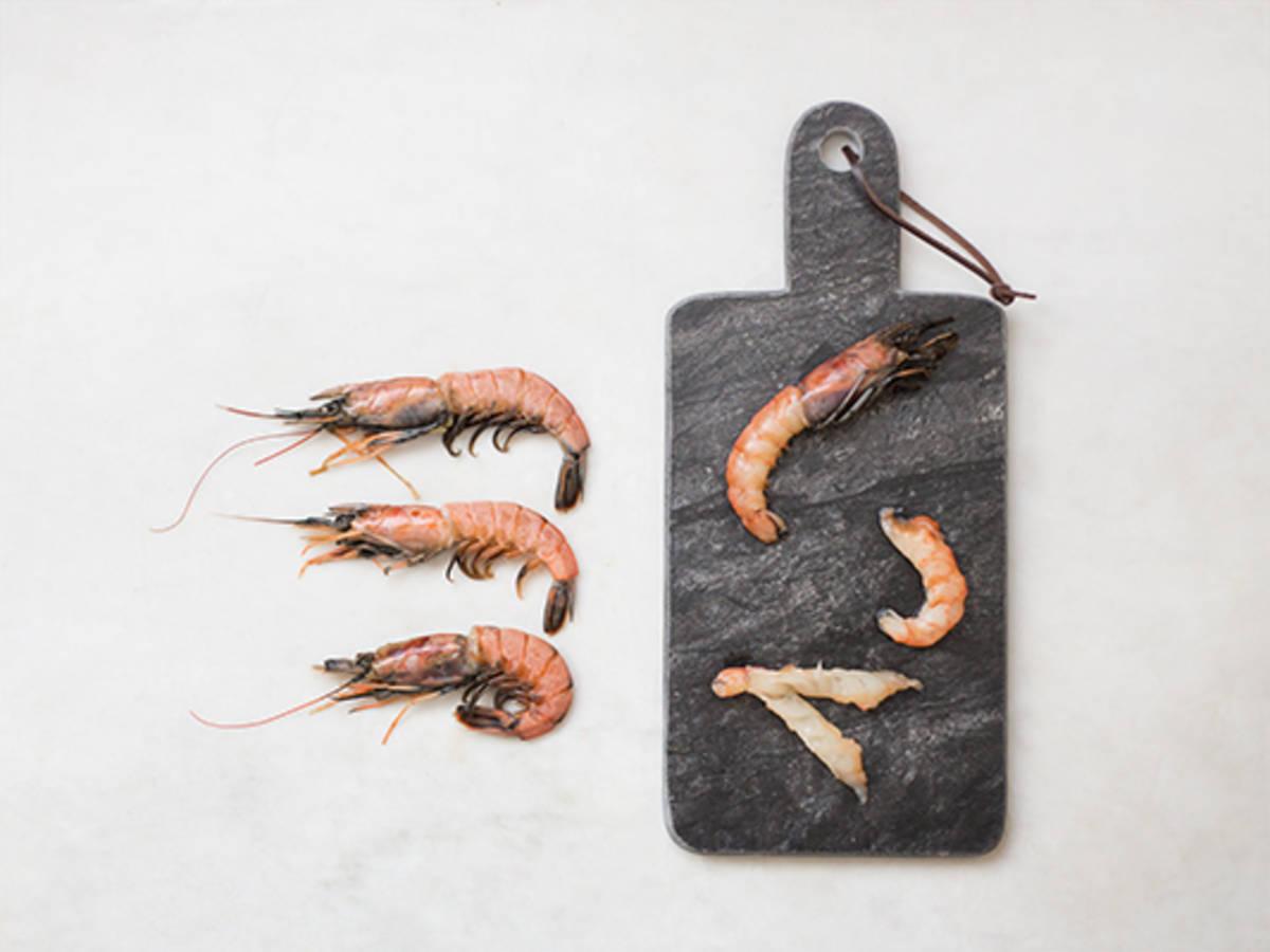 如何处理虾