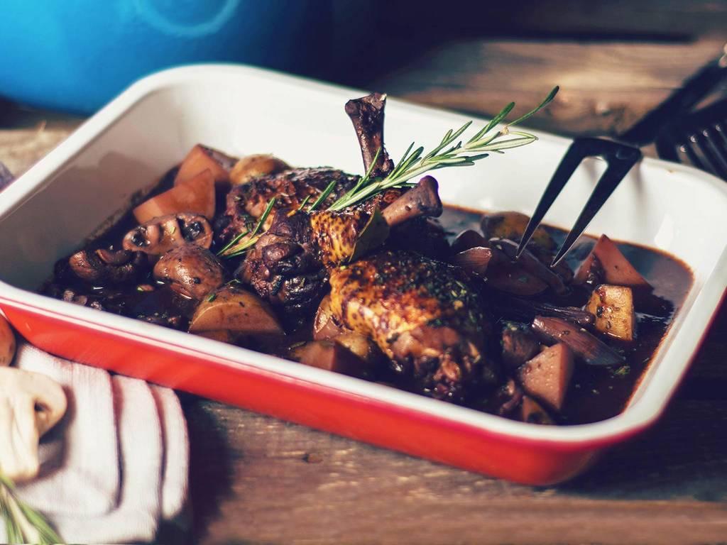 经典法式红酒炖鸡