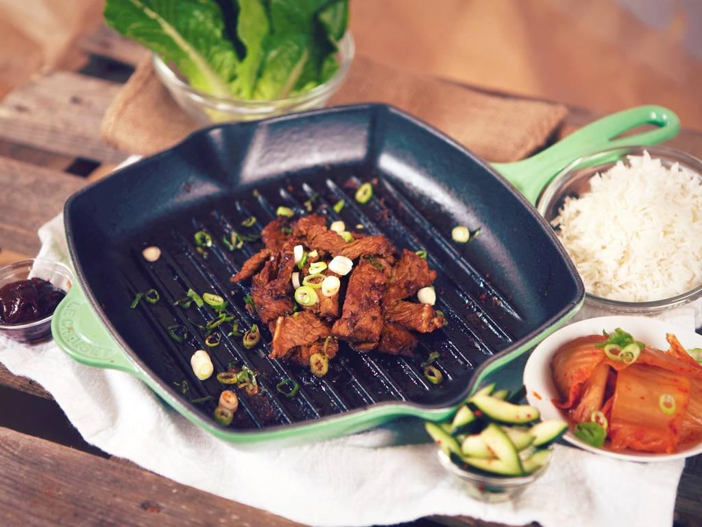 Koreanisches Barbecue mit Sam Jang Dip
