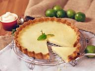 Fresh lime tart